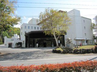 アートランドホテル蓼科正面玄関 2009年10月