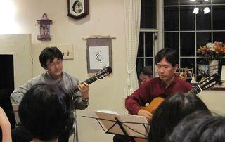 田口氏&稲垣氏ギターデュオ 2009.8.21