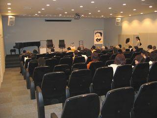 駐日スペイン大使館地下1階オーディトリアム 2009.5.19