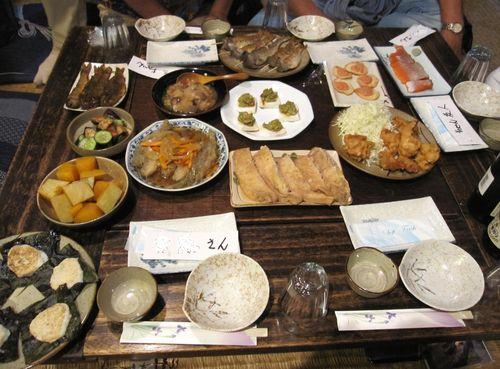 しなの家の夕食 2010年9月4日