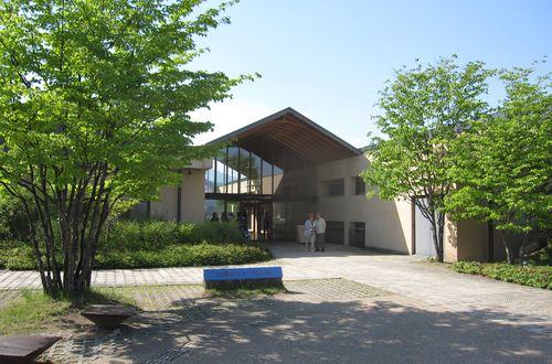 安曇野ちひろ美術館・外観 2010年5月21日