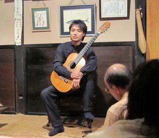 ギタリスト大萩康司氏 2010年9月4日