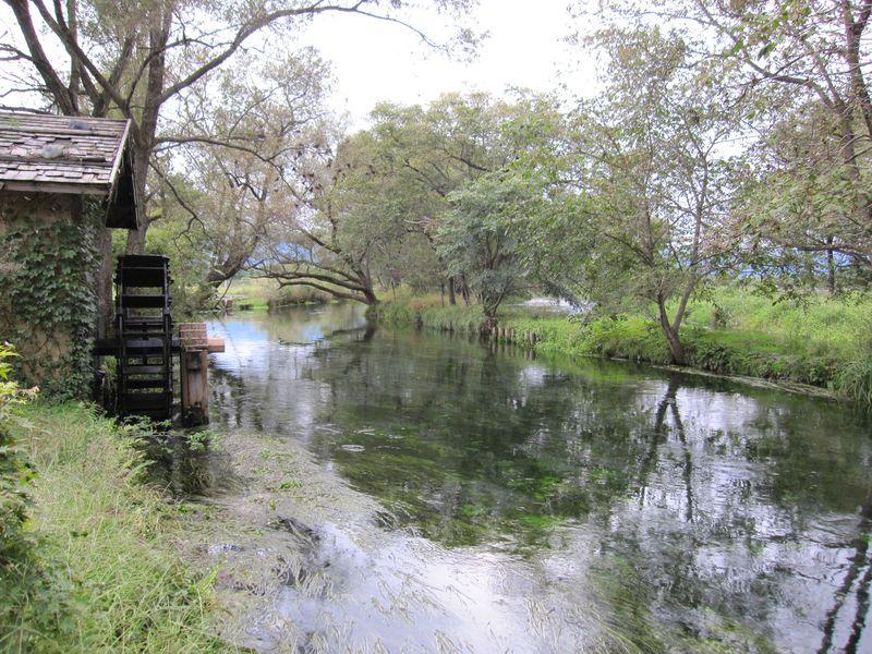 蓼川と水車小屋  2010.9.27