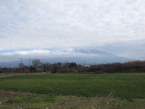 朝霧高原から見た富士山 2010.12.2